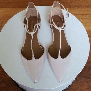 Aquazzura Ballet  Flats Nude Pink Size 38